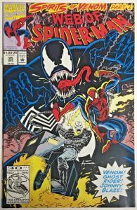 WEB OF SPIDER-MAN#95 NM 1992 'SPIRITS OF VENOM' MARVEL COMICS
