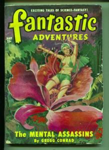 Fantastic Adventures-Pulp-5/1950-John D. Ma.cDonnald- Lester Barclay