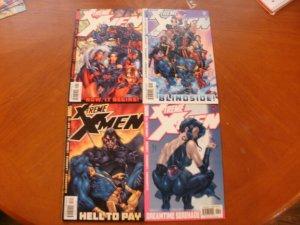 4 MARVEL Comic X-TREME X-MEN #1 2 3 4 (2001) Claremont Larroca Liquid (Blindside