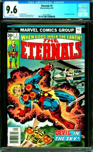 Eternals #3 CGC Graded 9.6 1st Appearance of Sersi