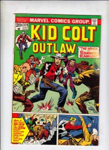 Kid Colt Outlaw #172 (Jul-73) FN/VF Mid-High-Grade Kid Colt