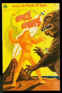 The Space Giants #1 1979- Based on TV series- Japanese Monsters- NM