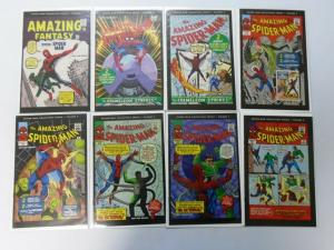 Spider-Man Collectible Series News Newspaper Inserts, Set:#1-24, 23 Diff. 6.0/FN
