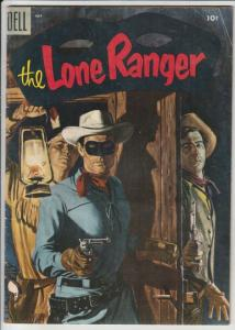 Lone Ranger, The #85 (Jul-55) FN- Mid-High-Grade The Lone Ranger, Tonto, Silver
