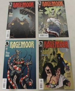 Dark Horse: Ragemoor (2012) #1-4 COMPLETE SET 1,2,3,4