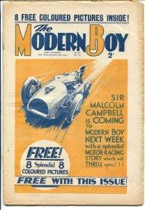 Modern Boy 12/2/1933-Mickey Mouse comic strip-U.K. published-adventure-VG