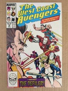 The West Coast Avengers #38