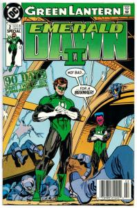 Green Lantern Emerald Dawn II #2 (DC, 1991) FN