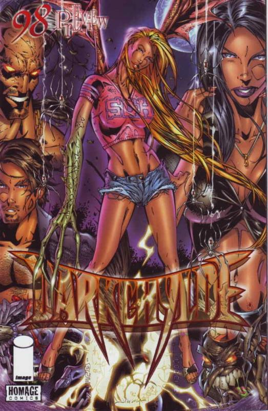 Darkchylde (Image) Ashcan #1 VF/NM; Image | save on shipping - details inside