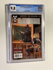 Black Widow Pale Little Spider 3 CGC 9.8 wp 2002