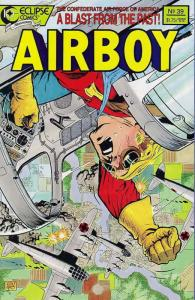 Airboy #39 VF/NM; Eclipse | save on shipping - details inside