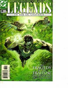 Lot Of 2 DC Comic Books New Titans Annual #9 and Green Lantern Legends #38 ON13
