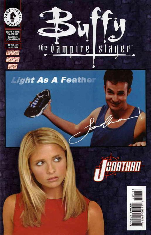 Buffy the Vampire Slayer: Jonathan #1SC VF; Dark Horse | save on shipping - deta