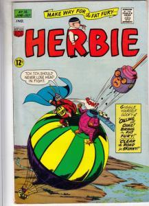 Herbie #18 (Jun-66) FN+ Mid-High-Grade Herbie Popnecker
