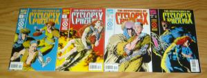 Adventures of Cyclops & Phoenix #1-4 VF/NM complete series - x-men cable spinoff