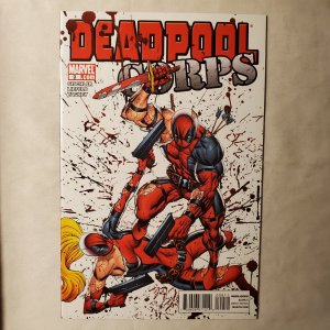 Deadpool Corps 9 Near Mint Cover by Rob Liefeld