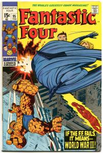 FANTASTIC FOUR #95, FN/VF, 1st Monocle, Jack Kirby, 1961, more FF in store, QXT