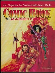 Comic Book Marketplace #84 2001-sophisticated collectors fanzine-Ditko-FN