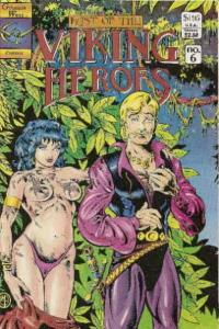 Last of the Viking Heroes, The #6 VF/NM; Genesis West | save on shipping - detai