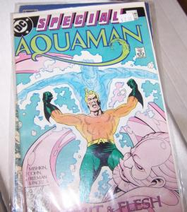 Aquaman Special #1 1988 + Legend of Aquaman #1 1989 DC - king of the seas
