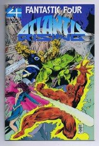 Fantastic Four Atlantis Rising #1 ORIGINAL Vintage 1995 Marvel Comics Acetate