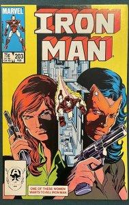 Iron Man #203 (1968 Marvel)