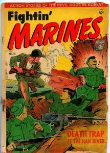 FIGHTIN' MARINES #15 1951-ST. JOHN-MATT BAKER-P/FR