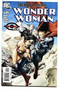 WONDER WOMAN #219 DC comic book Death of Maxwell Lord