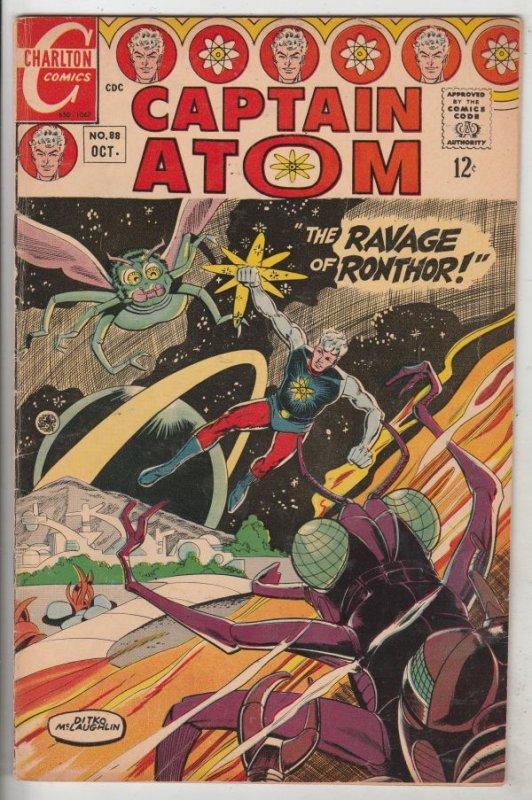 Captain Atom #88 (Oct-67) VF+ High-Grade Captain Atom, Nightshade