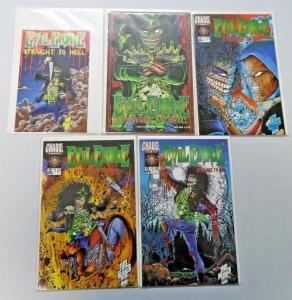 Evil Ernie lot - 10 different 8.0/VF - years vary