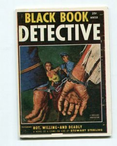 BLACK BOOK DETECTIVE-REPRODUCTION-LIMITED EDITION-HOT, WILLING AND DEADLY-WINTER