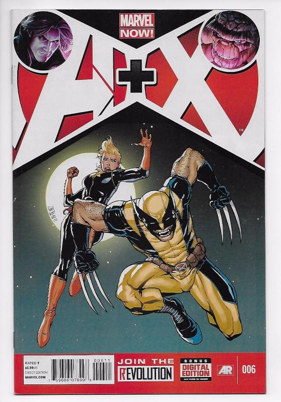 A+X #6 - Avengers / X-Men / Thing / Gambit / Wolverine (Marvel, 2013) VF/NM
