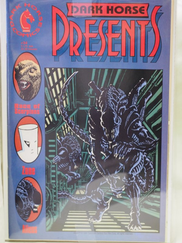 Dark Horse Presents #34 and #35 Aliens /Predator  NM
