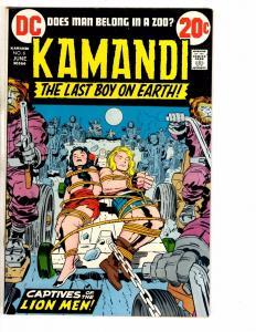 Kamandi # 6 VF/NM DC Comic Book Bronze Age Jack Kirby Series Last Boy Earth J250