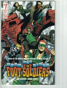 the Foot Soldiers Vol. 3 #1 VG chapters 10 + 11 - Jim Krueger - 26 Soldiers 2000