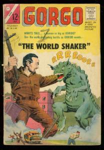 GORGO #19 1964-WORLD SHAKER-MGM-CHARLTON-Montes & Bache FR/G