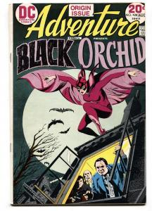 ADVENTURE COMICS #428-First appearance BLACK ORCHID-comic book