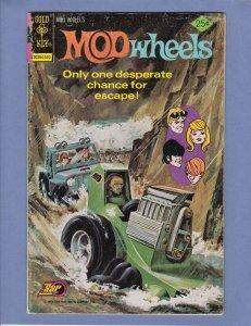 Mod Wheels #18 VG Gold Key 1975