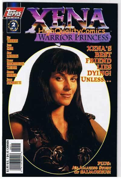 XENA WARRIOR PRINCESS #2, NM+, Photo, Lucy Lawless, 1997, more in store