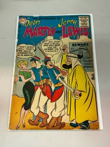 Adventures of Dean Martin and Jerry Lewis  20 FR 1st coded issue