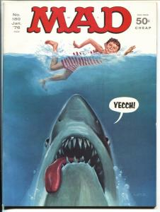 Mad-Magazine-#180-1976 JAWS-Mort Drucker-Don Martin-HIGH GRADE