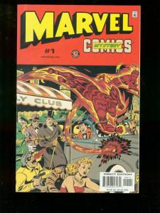 Marvel Mystery Comics #1 1999 HUMAN TORCH VISION Golden Age Reprints