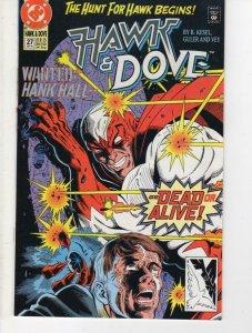 HAWK & DOVE #27, VF/NM, Kesel, 1989 1991, DC Comics, Hank Hall, more in store