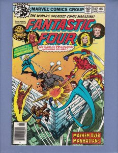 Fantastic Four #202 FN Quasimodo Marvel 1979