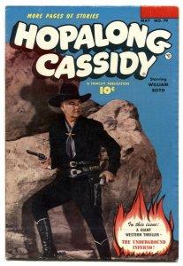 Hopalong Cassidy #79 1953- Fawcett Western- FN+