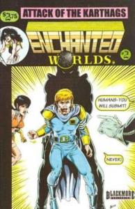 Enchanted Worlds #2, VF+ (Stock photo)