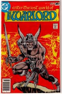 Warlord   vol. 1   # 11 VG