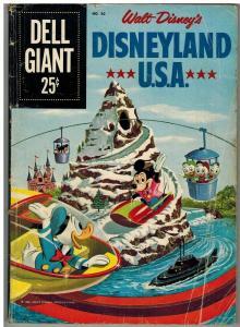 DELL GIANT 30 FR 1960 DISNEYLAND USA