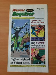 Marvel Requirer #9 Promo Wolverine ~ NEAR MINT NM ~ 1990 Marvel Comics