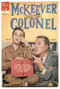 McKeever And The Colonel #3 1963- Dell TV comic- FN